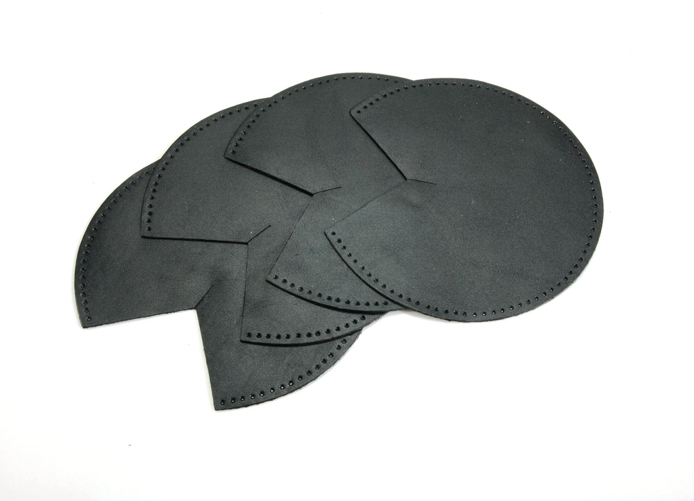 "byhands Synthetic Leather Patch for Bag Corner (3.9"")"