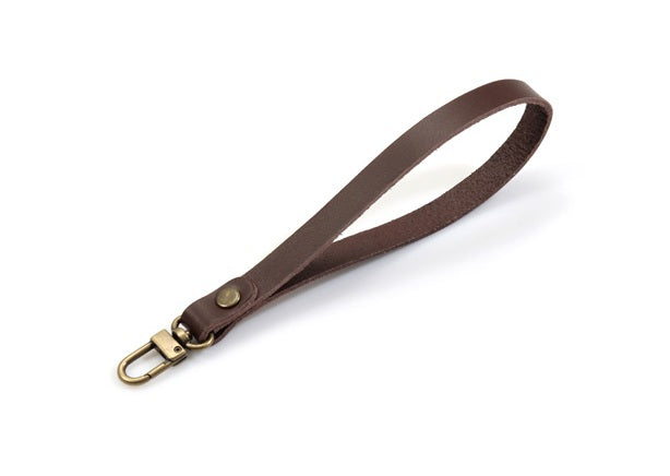 "byhands 100% Genuine Leather Mini Clutch Bag Strap, 7"" (20-1817)"