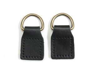 "2.5"" byhands D-Ring with 100% Genuine Leather Tab Attachment (18-1812)"