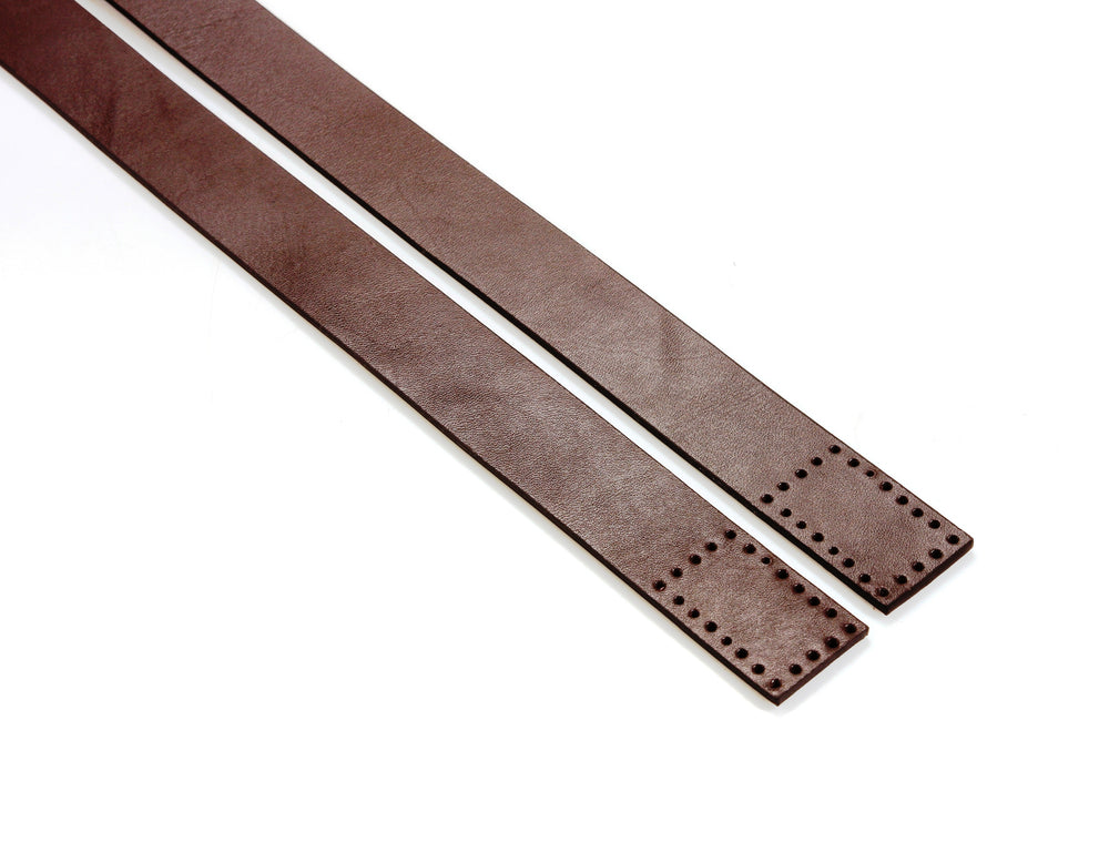 "24.1"" byhands 100% Genuine Leather Purse Handles, Bag Strap (20-4101)"
