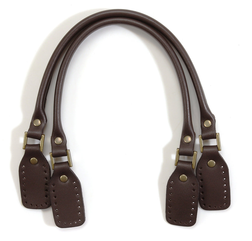 "14.4"" byhands 100% Genuine Leather Purse Handles, Tote Bag Strap (22-3601)"