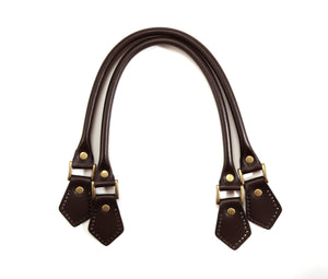 "18.8"" byhands 100% Genuine Leather Purse Handles, Tote Bag Strap (22-4701)"