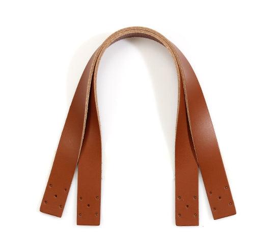 "14.5"" byhands 100% Genuine Leather Purse Handles/Bag Strap, Tan (24-3702)"