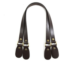 "23.8"" byhands 100% Genuine Leather Purse Handles, Shoulder Bag Strap (30-6001)"
