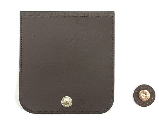 "byhands Synthetic Leather Detachable Magnetic Button Purse Zipper Cover, 5.3"" (32-4903)"