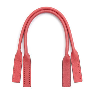 "20.4"" byhands Boston Series Saffiano Leather Purse Handles, Tote Bag Strap, Coral Pink (32-5203)"