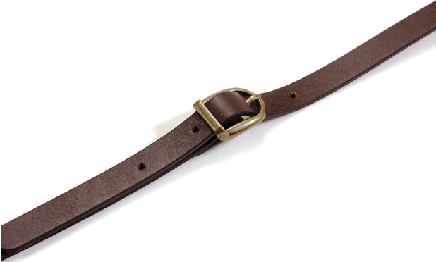 "40.5"" ~ 44"" byhands 100% Genuine Leather Adjustable Crossbody Bag Strap (40-1009)"