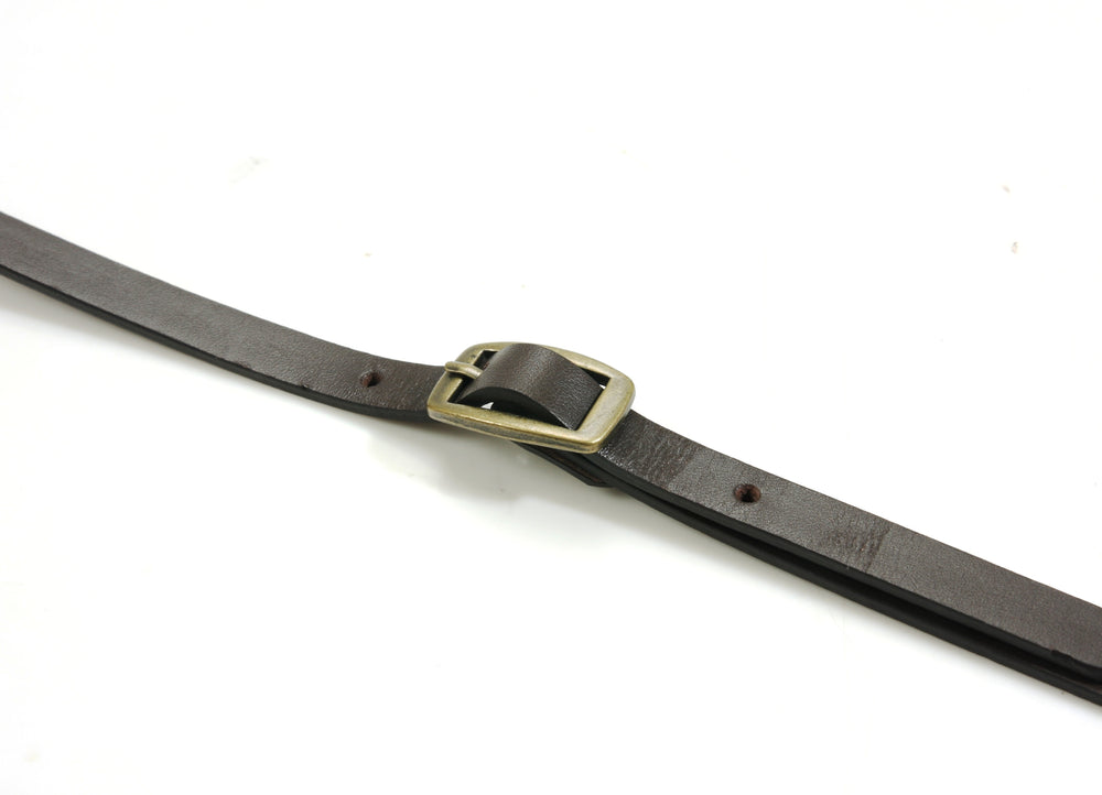 "46.8"" byhands 100% Genuine Leather Adjustable Shoulder Crossbody Bag Strap (40-1201)"