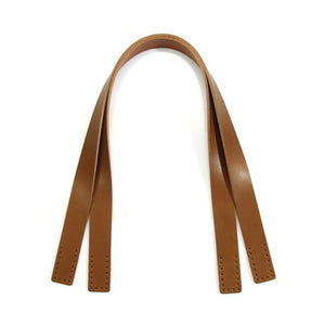 "24"" byhands 100% Genuine Leather Shoulder Bag Straps/Purse Handles, Tan (40-4125)"