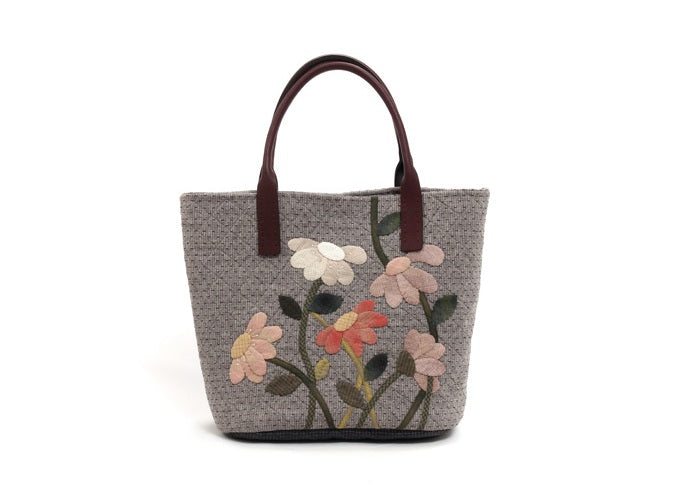 [Kit] Byhands Blooming Flowers Tote Bag (BYP-1721)