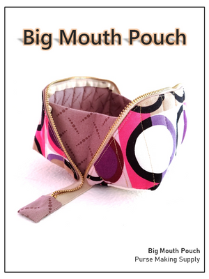 [Bag Pattern] Big Mouth Pouch