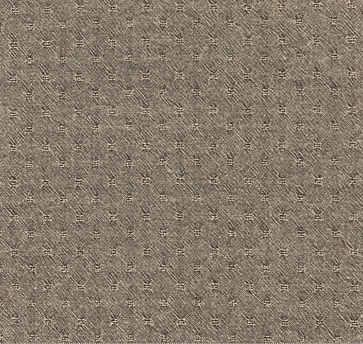 byhands 100% Cotton Yarn-dyed Honey Waffle Style Checkered Fabric, Light Sepia (EY20053-E)