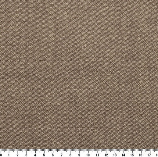 byhands 100% Cotton Yarn Dyed Fabric - Classic Checkerd Pattern Fabric, Light Brown (EY20029-B)
