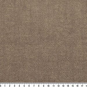 byhands 100% Cotton Yarn Dyed Fabric - Classic Checkerd Pattern, Light Brown (EY20029-B)