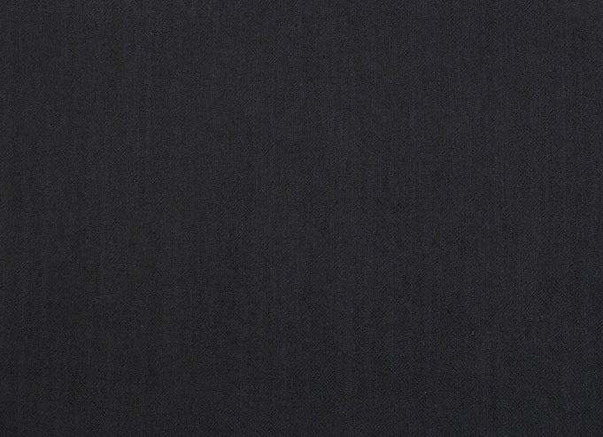 byhands 100% Cotton Yarn Dyed Fabric - Classic Checkerd Pattern Fabric, Charcoal Black (EY20029-E)