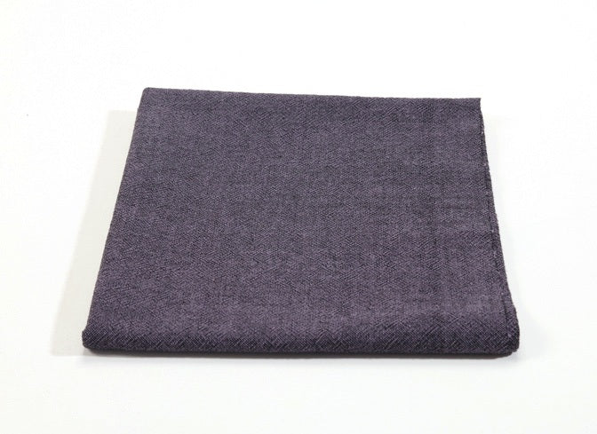 byhands 100% Cotton Yarn Dyed Fabric - Classic Checkerd Pattern, Purple (EY20029-J)