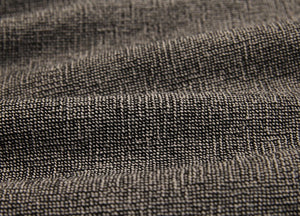 byhands 100% Cotton Yarn Dyed Fabric - Classic Checkerd Pattern, Deep Grey (EY20029-M)