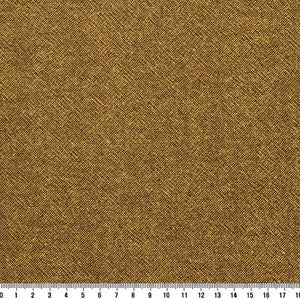 byhands 100% Cotton Yarn Dyed Fabric - Classic Checkerd Pattern Fabric, Mustard (EY20029-O)