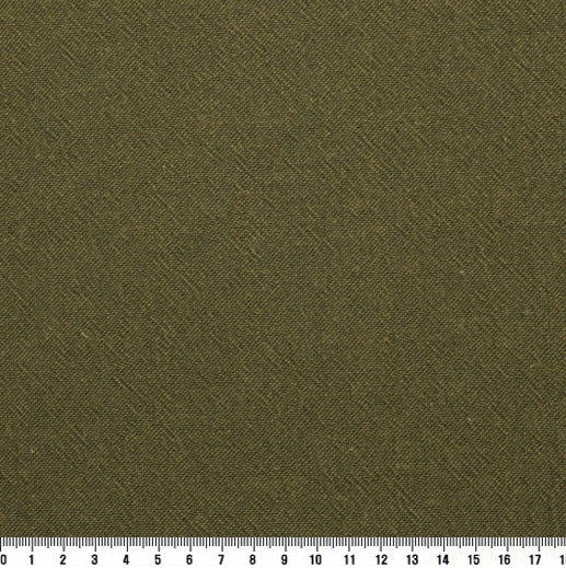 byhands 100% Cotton Yarn Dyed Fabric - Classic Checkerd Pattern, Olive (EY20029-P)