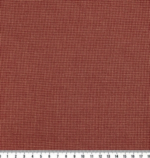 byhands 100% Cotton Fabric - Euro Style Yarn-Dyed Checkered Fabric, Red (EY20042-C)