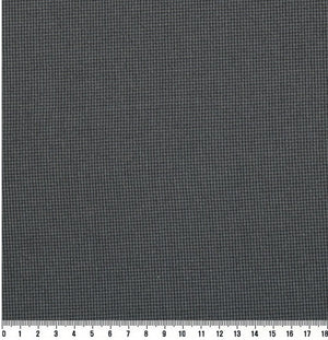 byhands 100% Cotton Yarn-Dyed Fabric - Euro Style Checkered Pattern, Indigo (EY20042-K)