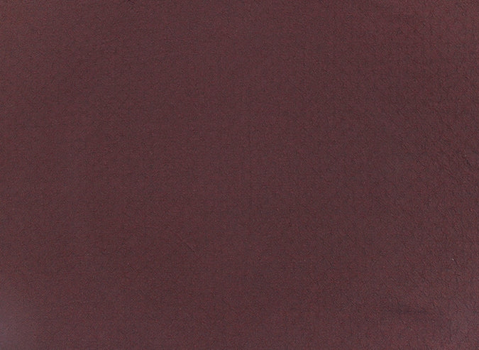 byhands 100% Cotton Yarn-dyed Fabric, Honey Waffle Style Checkered Pattern, Cloudy Deep Red (EY20053-F)