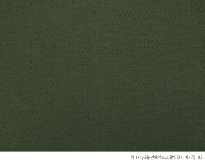 byhands 100% Cotton Yarn-dyed Classic Mini-Dot Checkered Fabric, Forrest Green (EY20066-B)