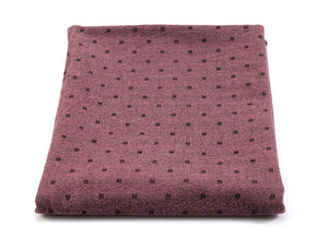 byhands 100% Cotton Yarn Dyed Mini Square Light Series Checkered Pattern Fabric, Orchad Purple (EY20074-H)