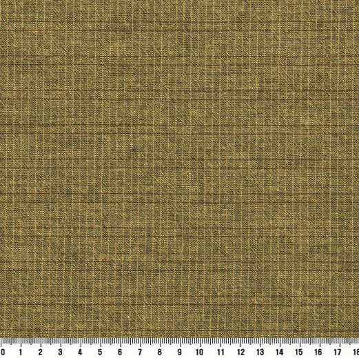 byhands 100% Cotton Yarn-Dyed Trend Mini Check Pattern, Mustard (EY20081-C)