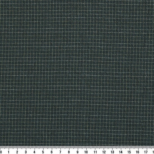 byhands 100% Cotton Yarn-Dyed Trend Mini Check Pattern, Blue Green (EY20081-E)