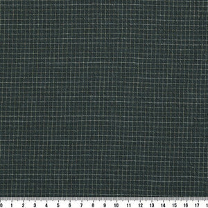 byhands 100% Cotton Yarn-Dyed Fabric, Trend Mini Check Pattern, Blue Green (EY20081-E)