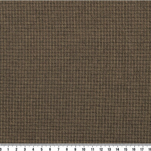byhands 100% Cotton Yarn-Dyed Trend Mini Check Pattern, Light Brown (EY20081-F)