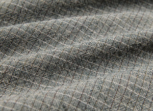 byhands 100% Cotton Yarn-Dyed Trend Mini Check Pattern, Blue Grey (EY20081-J)