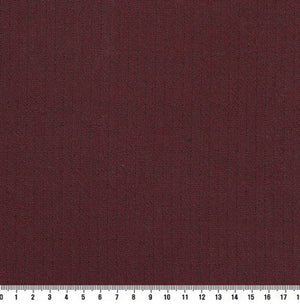 byhands 100% Cotton Yarn Dyed Fabric - Line Stripe Check Pattern, Wine (EY20085-I)