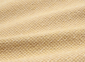 byhands 100% Cotton Yarn Dyed Fabric, Royal Dobby Check Patern, Mustard (EY20086-F)