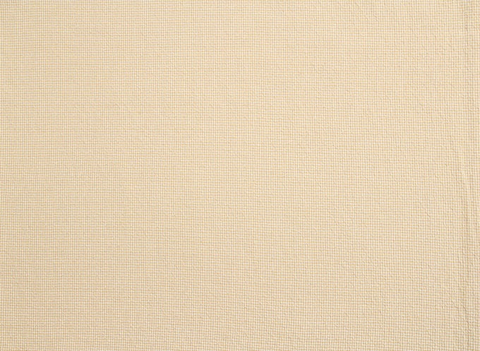 byhands 100% Cotton Yarn Dyed Fabric, Royal Dobby Check Pattern, Yellow (EY20086-K)