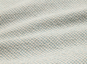 byhands 100% Cotton Yarn Dyed Fabric, Royal Dobby Check Pattern, Sky Blue (EY20086-L)