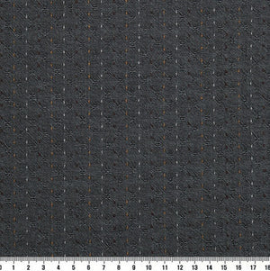 byhands 100% Cotton Yarn Dyed Fabric - Line Stitch Pattern, Turbulence (EY20089-A)