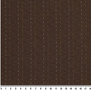 byhands 100% Cotton Yarn Dyed Fabric - Line Stitch Pattern, Carafe (EY20089-E)