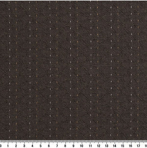 byhands 100% Cotton Yarn Dyed Fabric - Line Stitch Pattern, Eiffel Tower (EY20089-F)