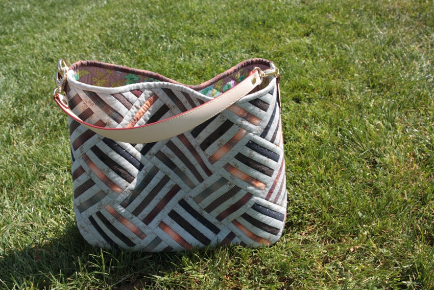 [Bag Pattern] Rail Fence Bag