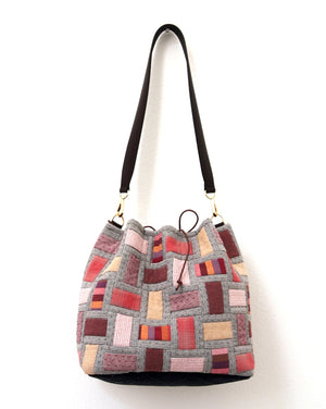 DIY Bag Making Pattern - Puzzle Bag