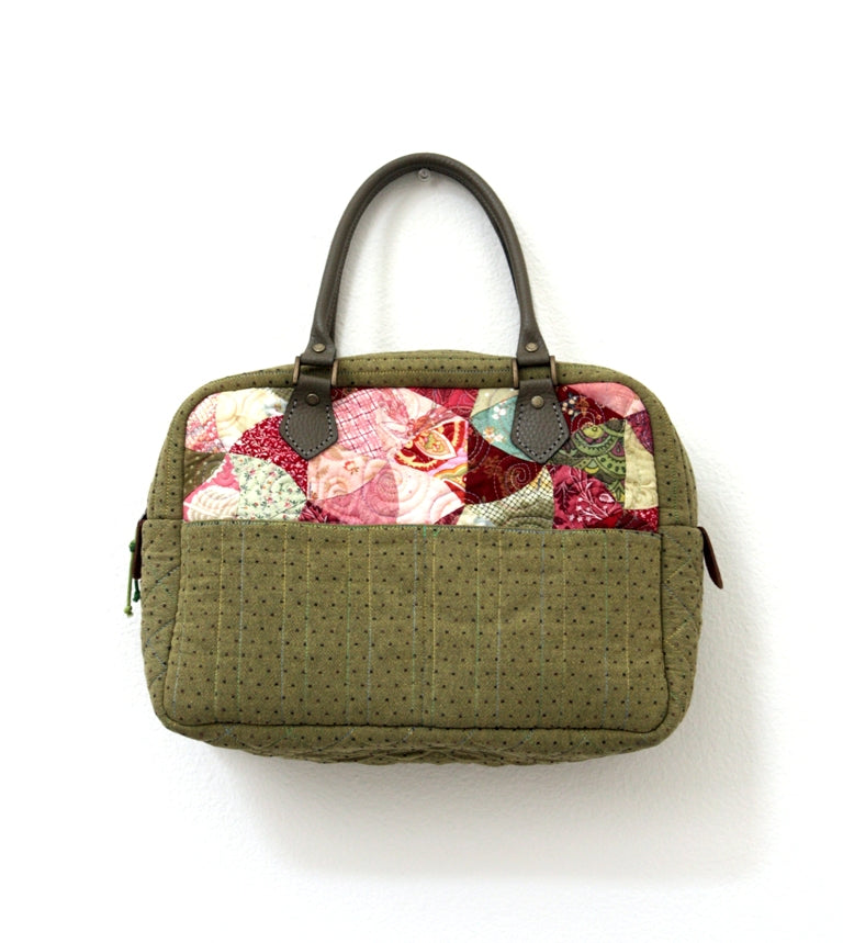 DIY Bag Making Pattern - Olive Bag