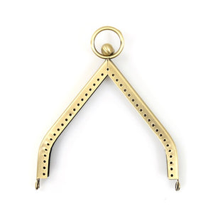 "Triangle Bag Frame with Ring (4.3"", 11 cm), XS-1209"
