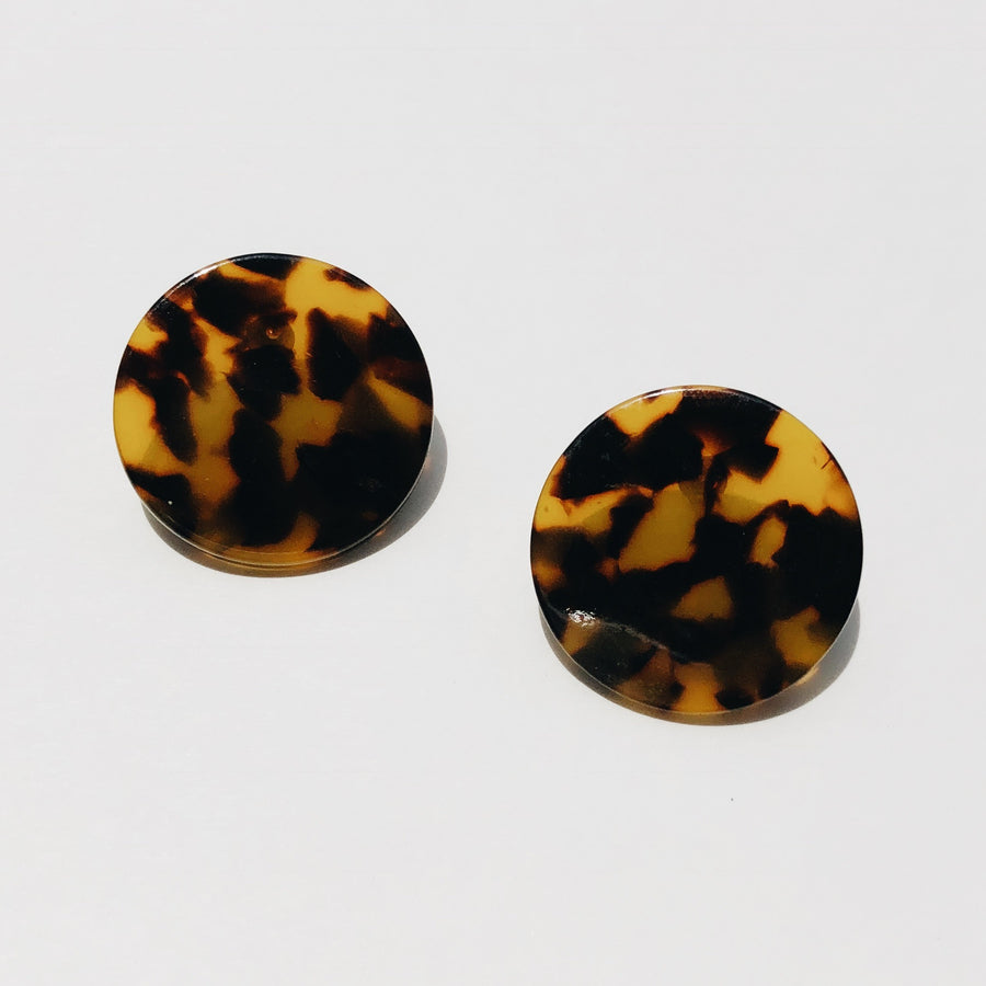 Daphne Earrings in Classic Tortoise