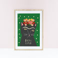 Frida Catlo Cat Print