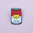 Andy Pawhol Artist Cat Enamel Pin