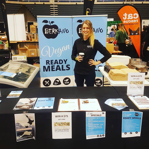 Berkano at the Christchurch Vegan Expo