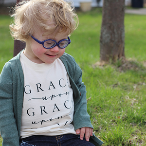 Grace Upon Grace Kids Tee