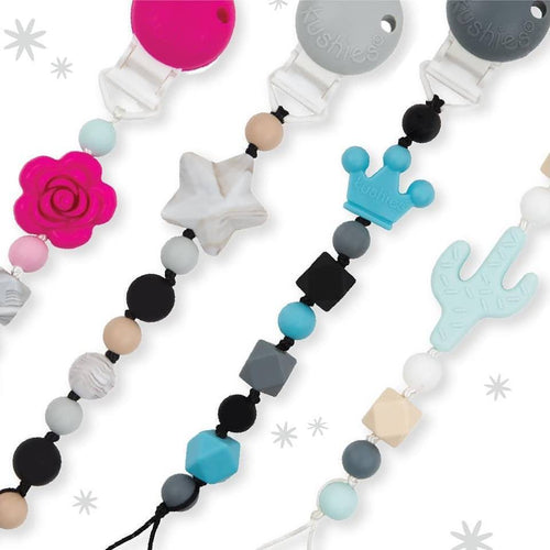 SiliBeads Silicone Pacifier Clip
